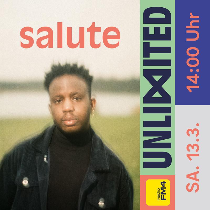 salute beim FM4 Unlimited - Tag der Clubs und DJs