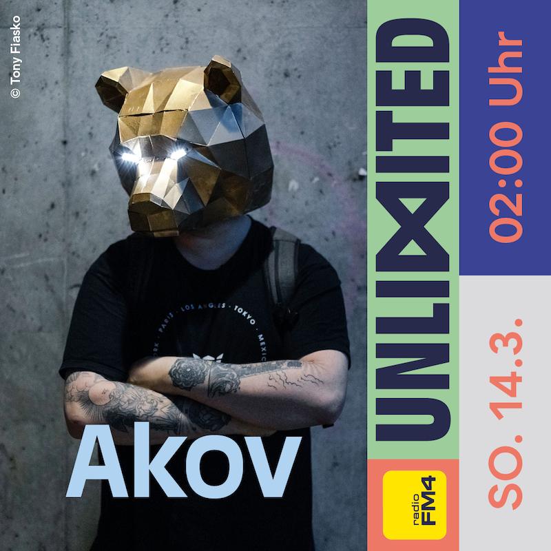 Akov beim FM4 Unlimited Tag der DJs und Clubs
