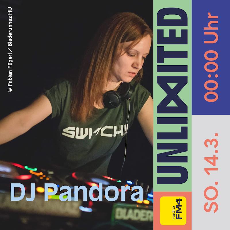 DJ Pandora beim FM4 Unlimited Tag der DJs und Clubs