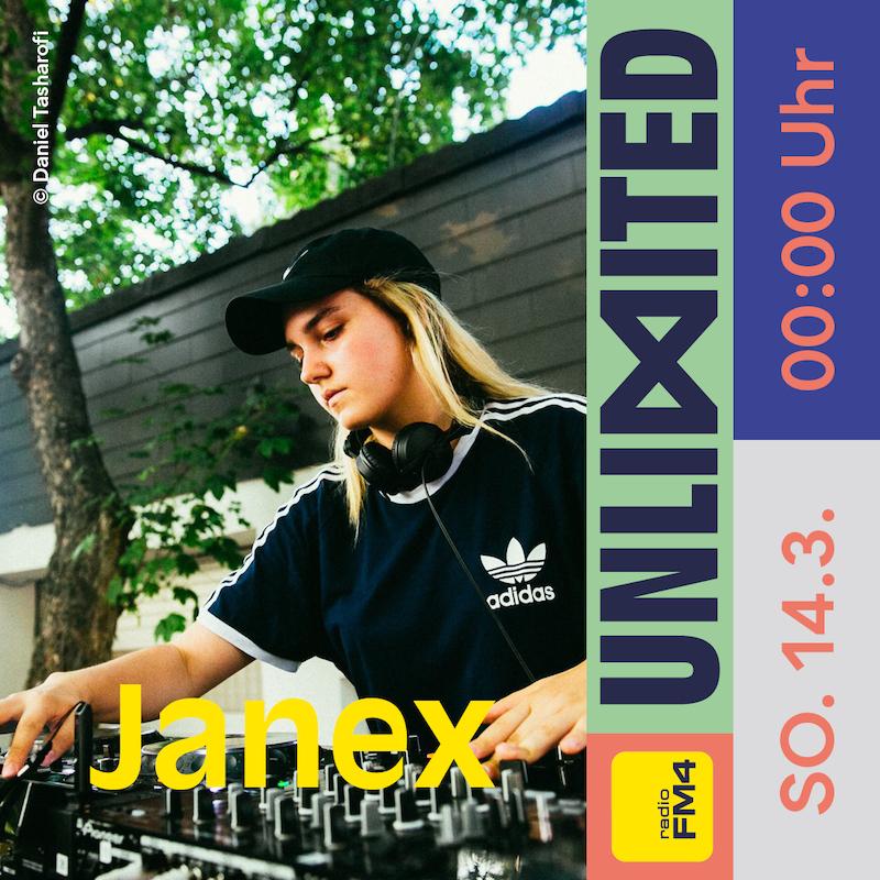 Janex beim FM4 Unlimited Tag der DJs und Clubs