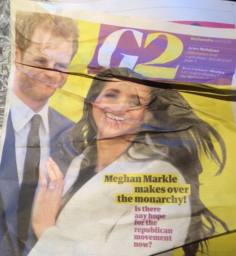 """Guardian vor drei Jahren: """"Meghan makes over the Monarchy"""""""