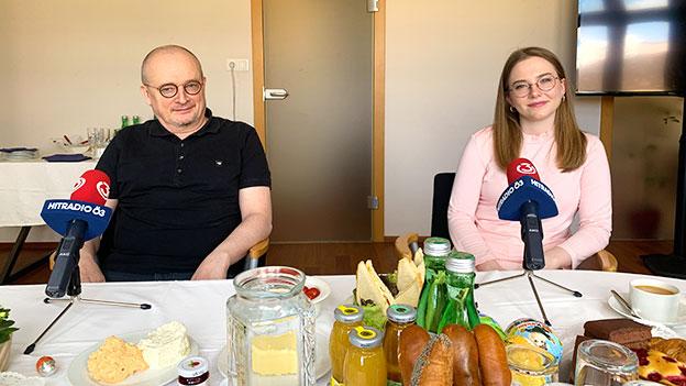 Alexanra Bosek und Bernhard Heinzlmaier