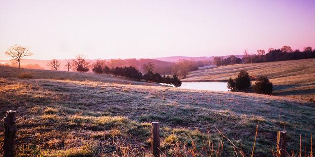 Landschaft Missouri