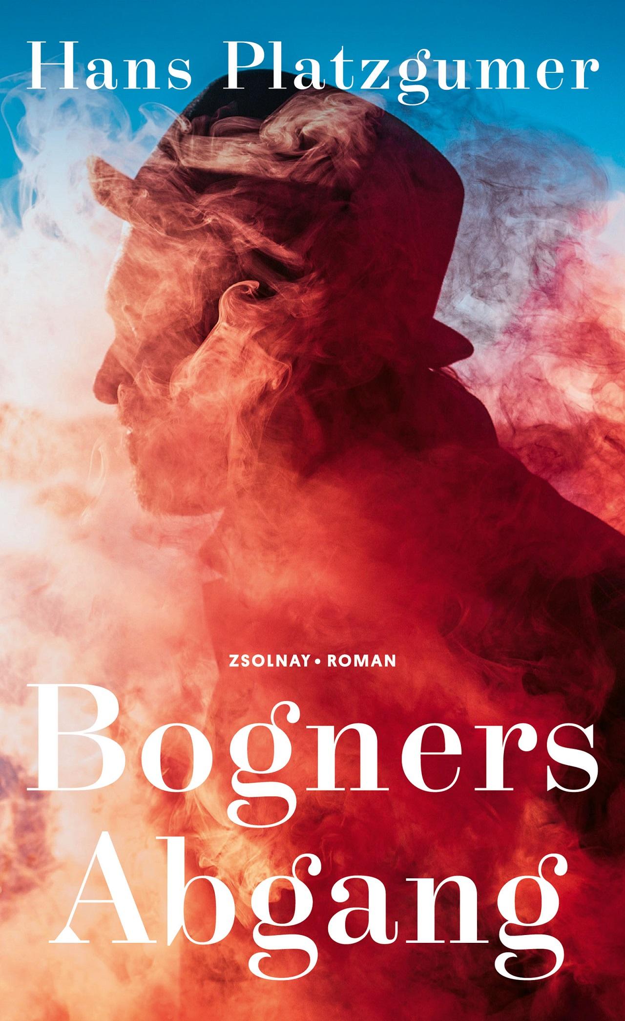 """Buchcover """"Bogners Abgang"""" von Hans Platzgumer"""