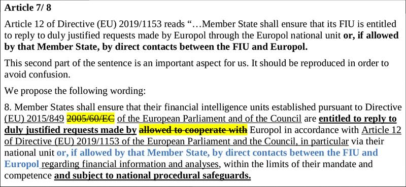 EU Ministerrat zu Europol