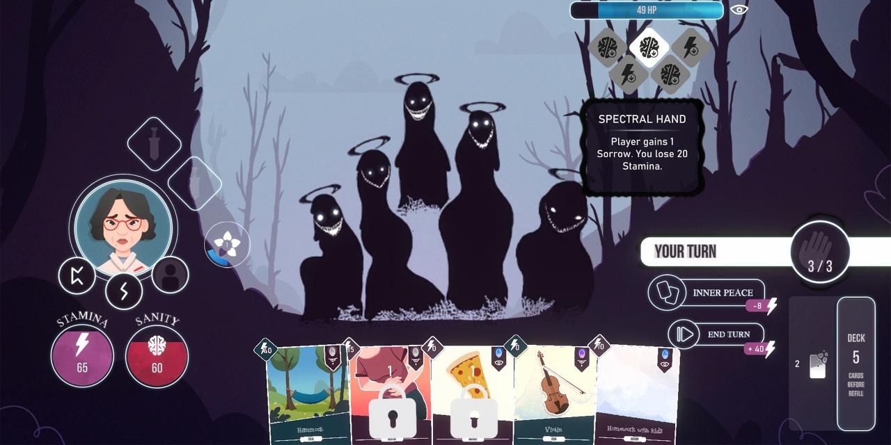 """Screenshot aus dem Computerspiel """"Neurodeck"""""""