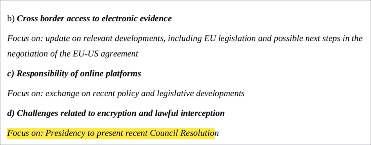 Dokument der EU Kommission
