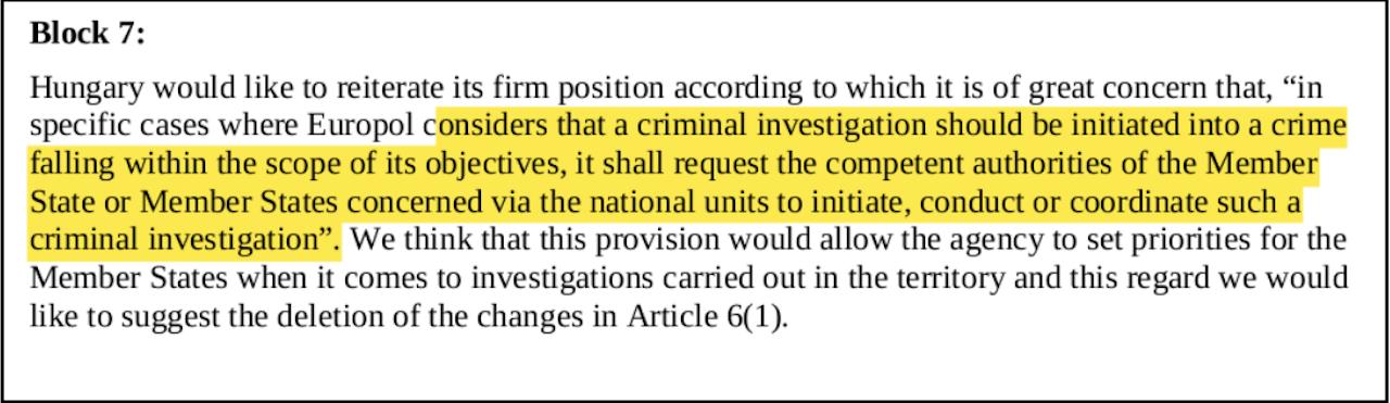 EU-Ministerrat Dokumente