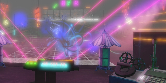 "Screenshot aus dem Game ""Isolationist Nightclub Simulator"""