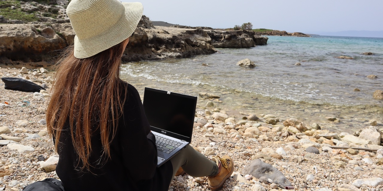 Digitale Nomaden in Griechenland