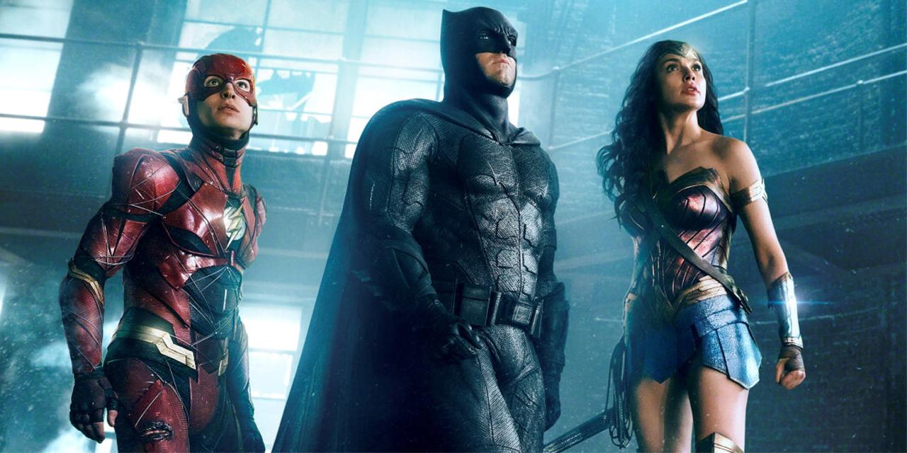 "Drei Superheld:innen in ""Zack Snyder's Justice League"""
