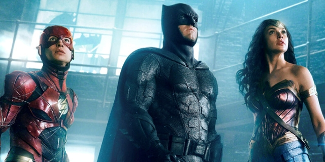"Drei Superheld:innen in ""Zack Snyder's Justice League"""