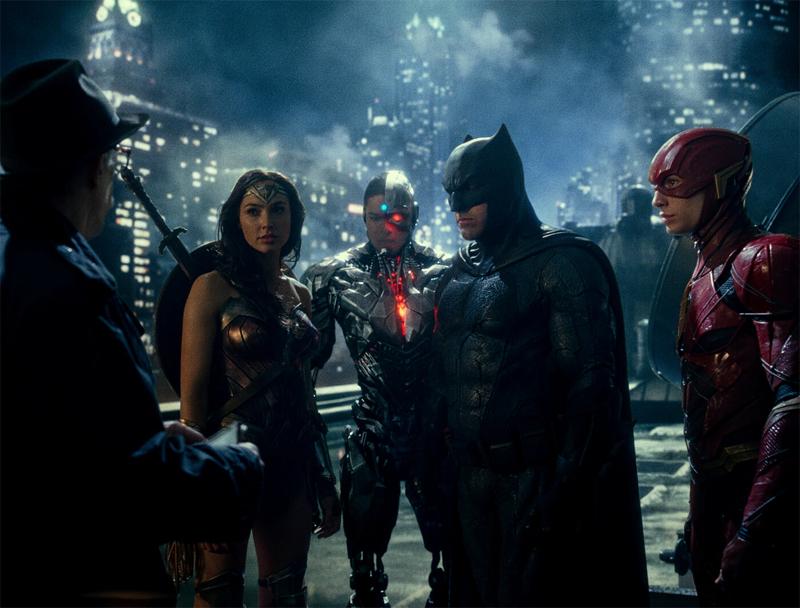"Superheld:innen in ""Zack Snyder's Justice League"""