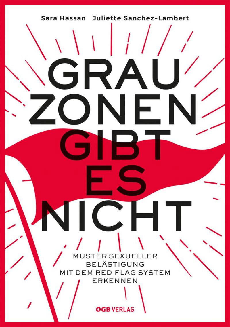 """Buchcover zu """"Grauzonen gibt es nicht"""" von Sara Hassan und Juliette Sanchez-Lambert"""