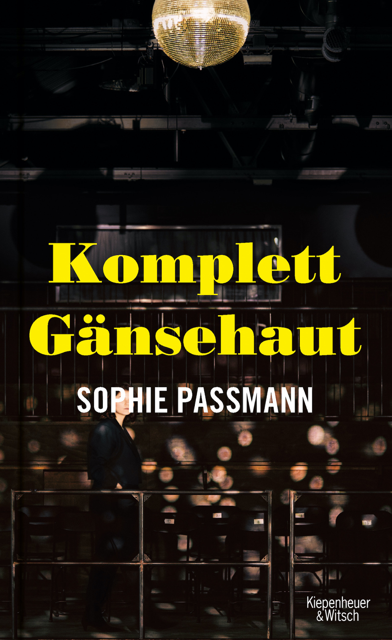"Sophie Passmann ""Komplett Gänsehaut"" Cover"