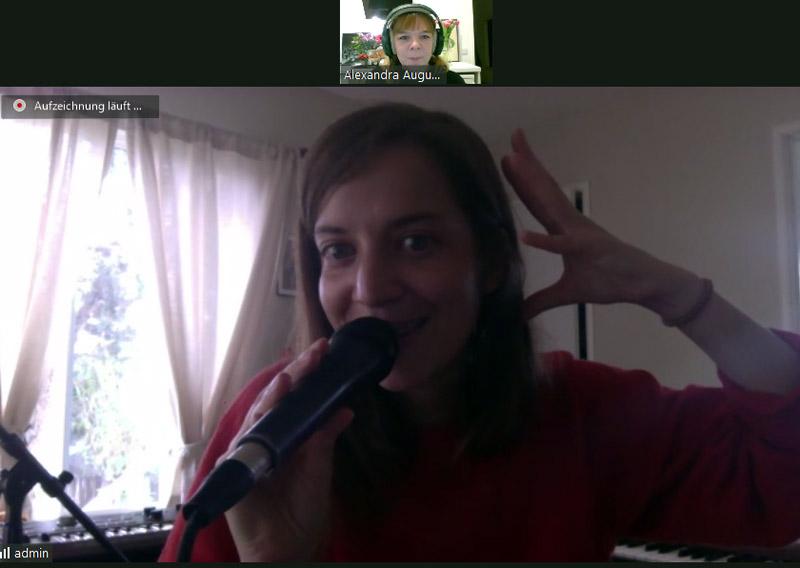 Skype-Interview mit Salami Rose Joe Louis