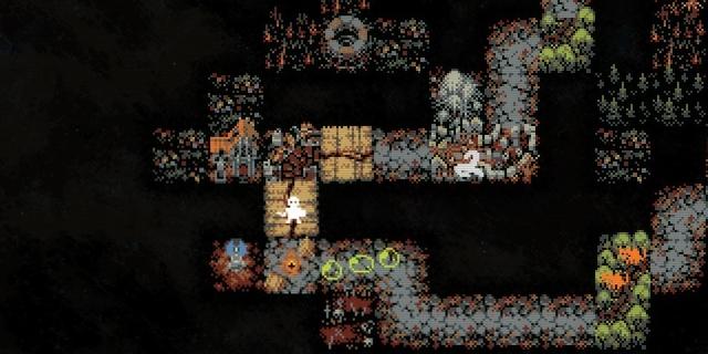 """Bildschirmfoto aus dem Computerspiel """"Loop Hero"""""""