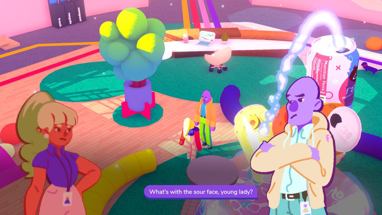 Screenshot Jackie mit ihrem Vorgesetzten