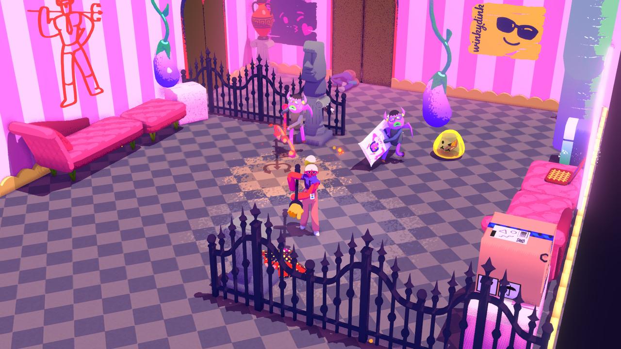 Screenshot aus dem Start-Up