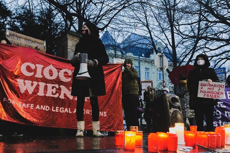 Abtreibungsdemonstration