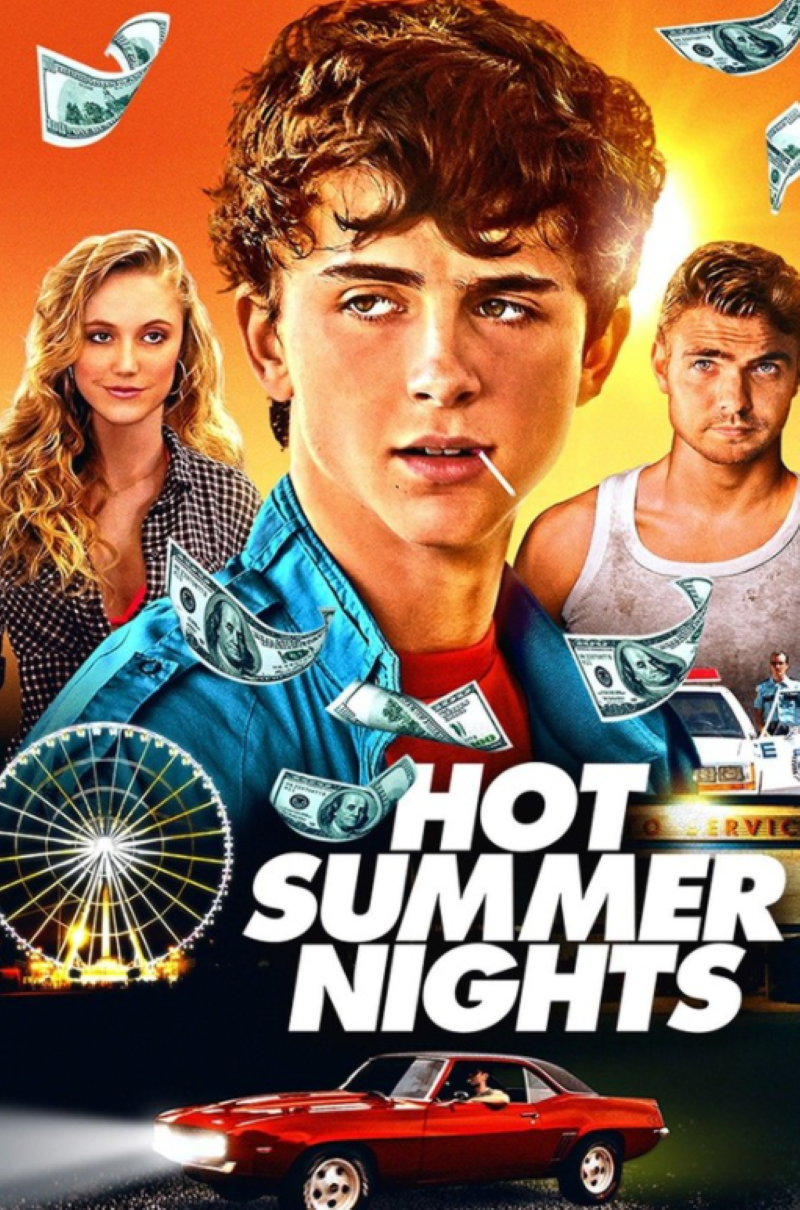 Hot Summer Nights, Timothée Chalamet, Alex Roe