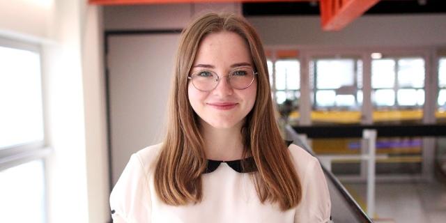 Bundesschulsprecherin Alexandra Bosek