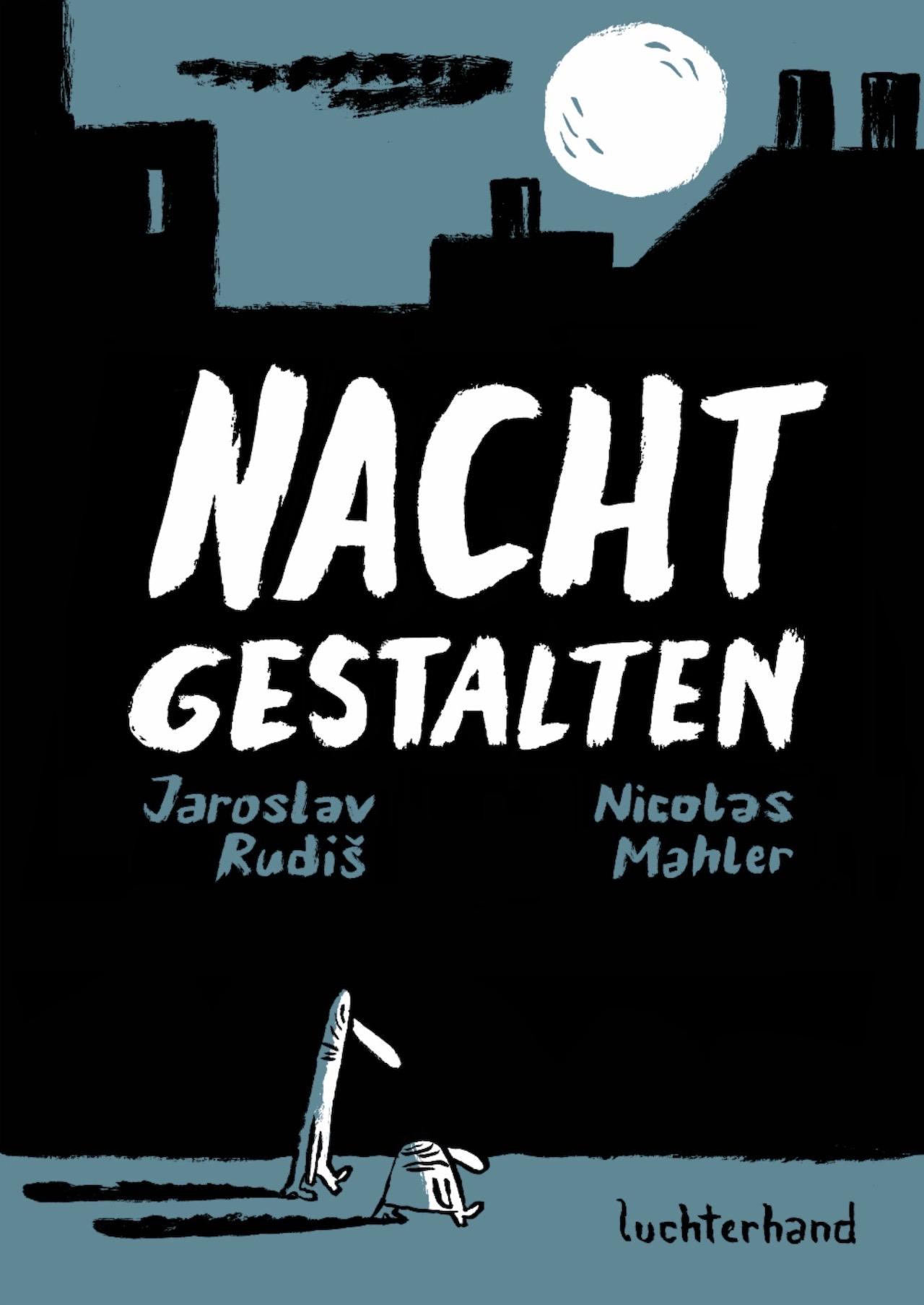 """Cover von Jaroslav Rudis und Nicolas Mahler """"Nachtgestalten"""""""