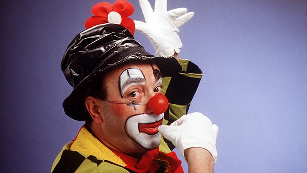 Heinz Zuber alias Enrico der Clown