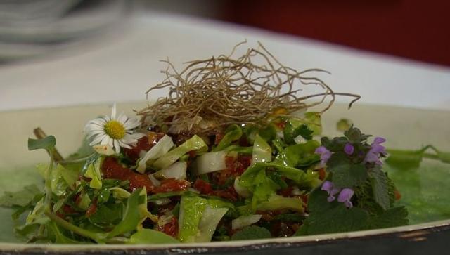 Veganes Leaf Tartare