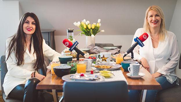 Monika Ballwein und Claudia Stöckl