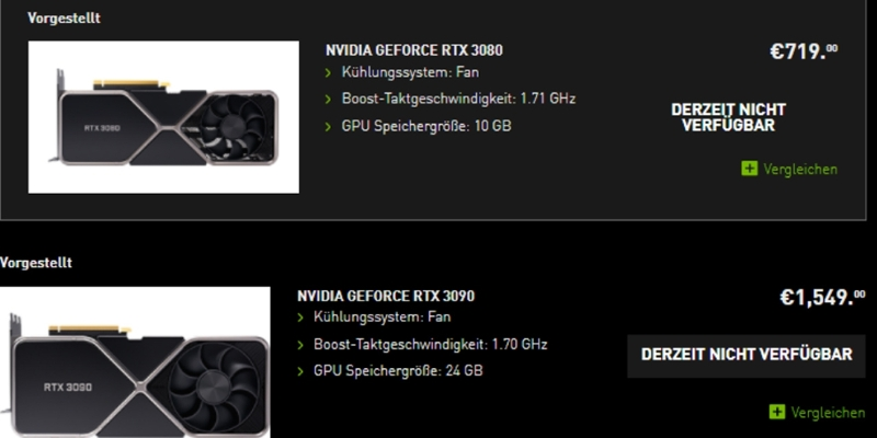zwei nvidia grafikkarten