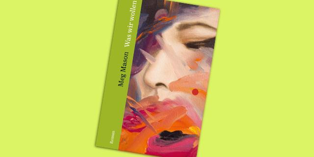 Buchcover mit Malerei eines Gesichts