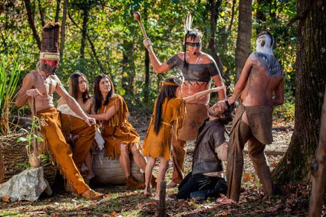 """Szenenbild aus der Doku """"Pocahontas -  Die wahre Geschichte"""""""