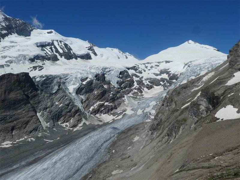 Pasterze Gletscher am Großglockner 2020