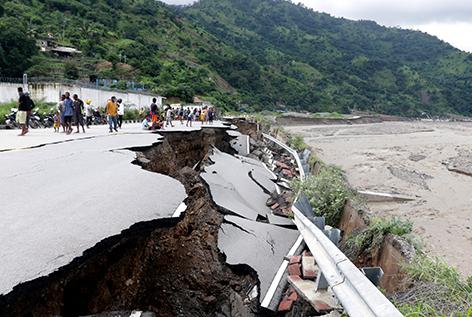 Hochwasser Unwetter Indonesien