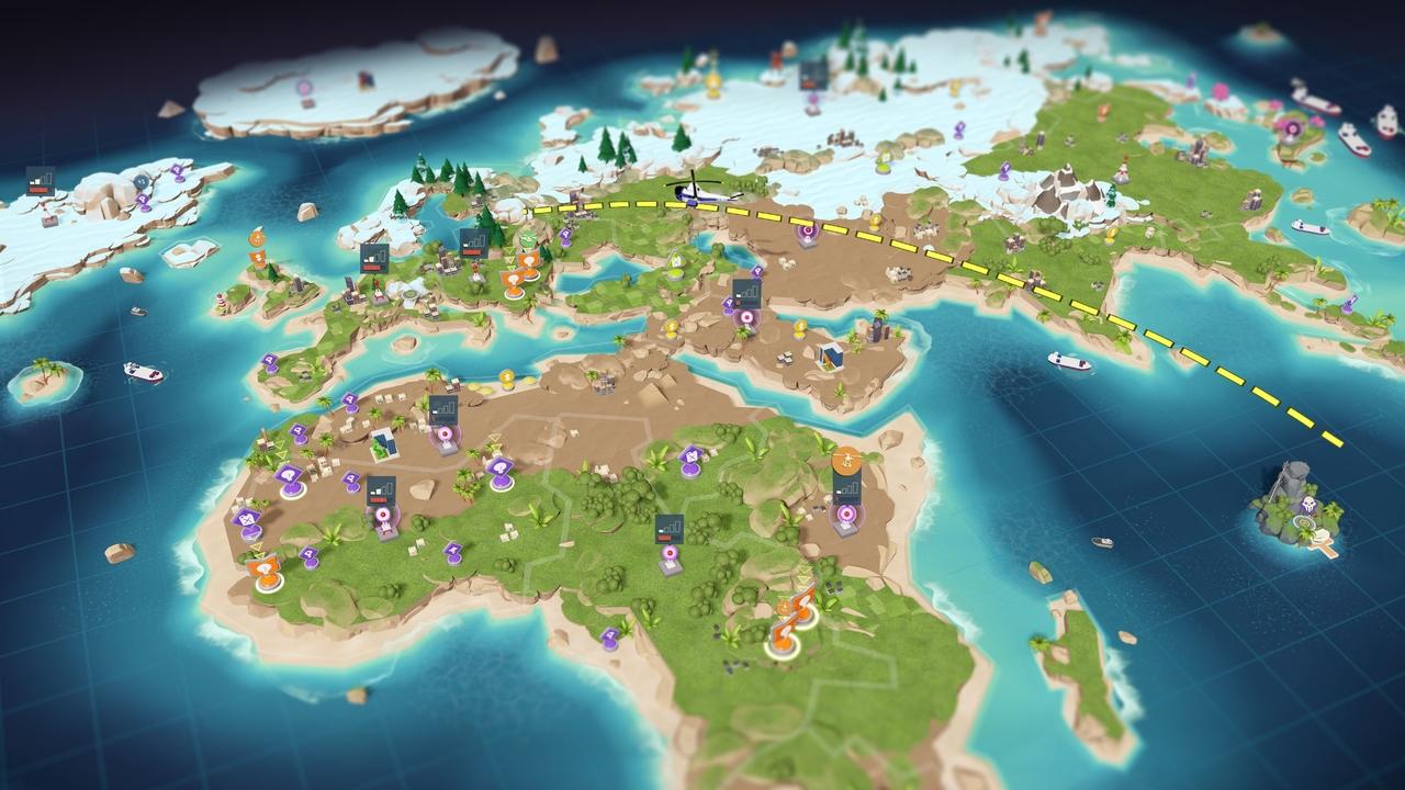 Screenshot Landkarte