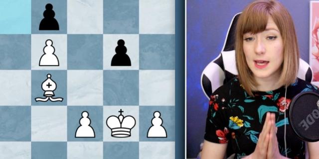 Anna Rudolf live in ihrem Stream auf Twitch.