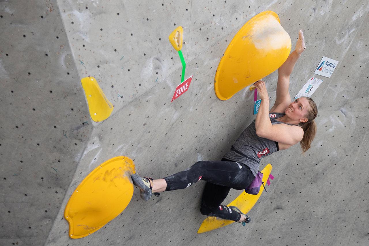 Franziska Sterrer bei den Österreichischen Staatsmeisterschaften im Bouldern | 23-26 September 2020 - Innsbruck (AUT)