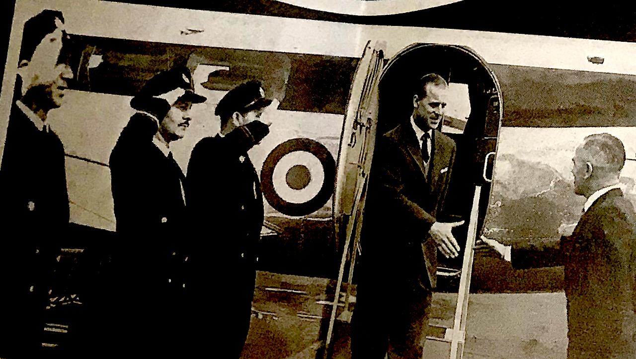 Bilder von Prince Philipp aus dem Gedenk-Special des Kentish Messenger