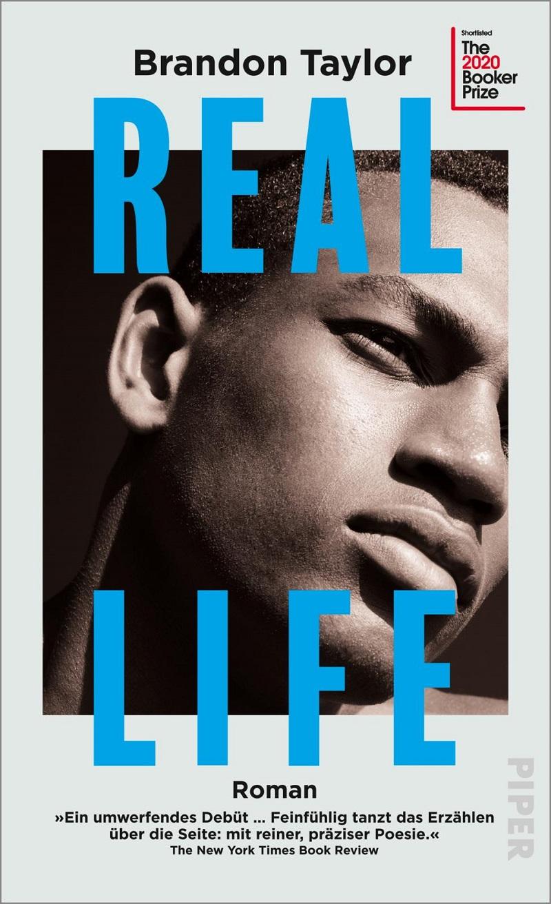 "Buchcover ""Real Life"" von Brandon Taylor"