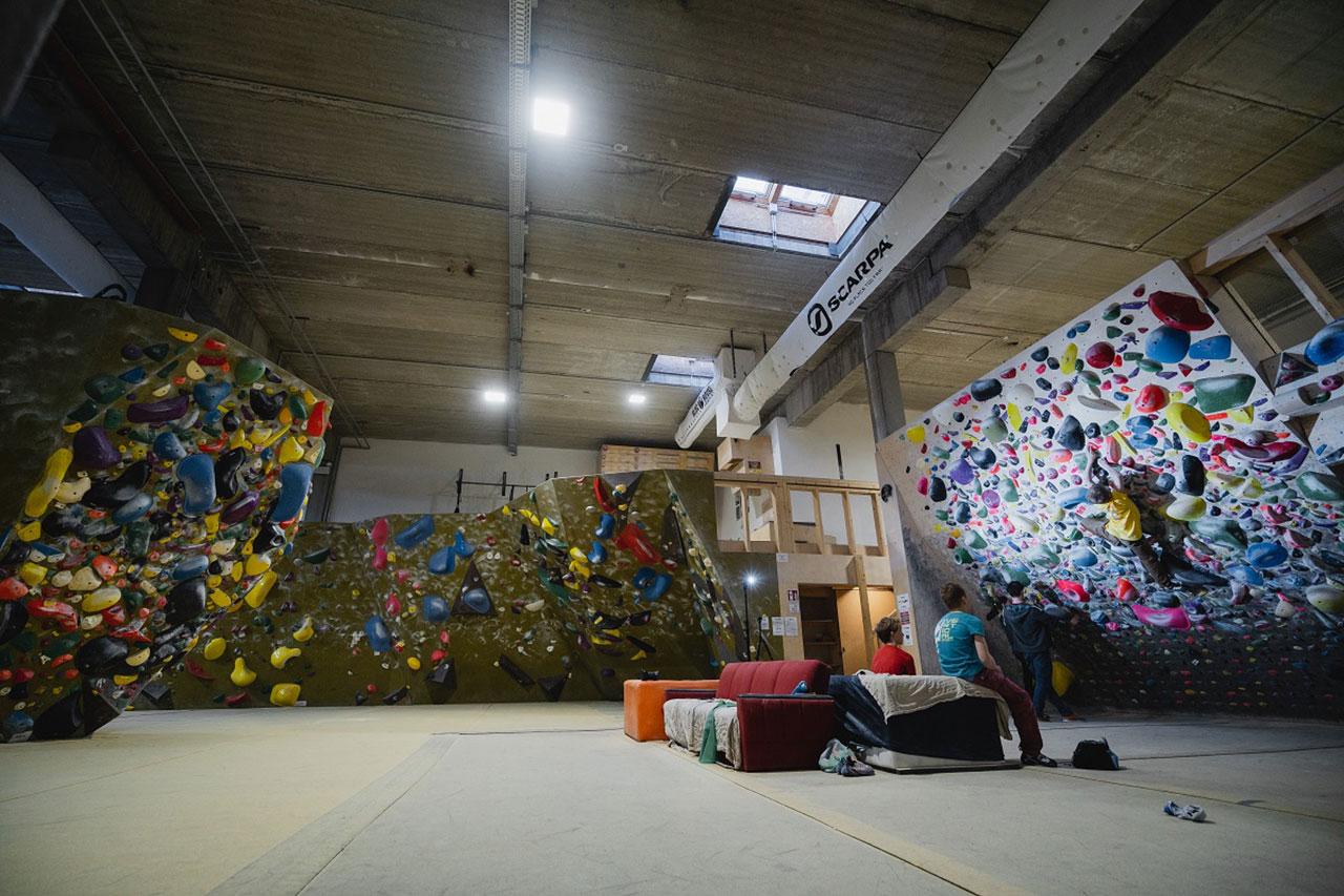 Boulderhalle Bloc House in Graz