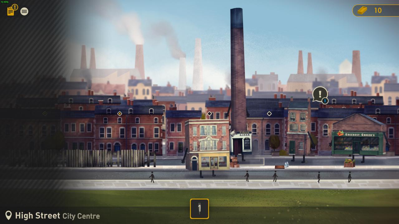 Screenshot des Spiels Buildings Have Feelings Too