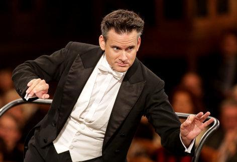 Wir spielen für Österreich Philippe Jordan dirigiert die Wiener Philharmoniker