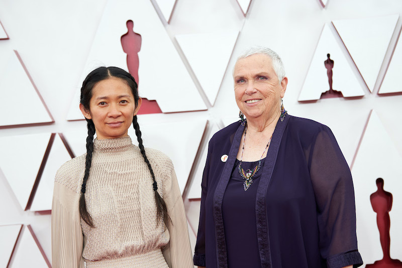 Chloe Zhao und Swankie