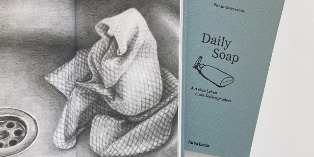 "Buchcover von Pascale Oberwalders ""Daily Soap"""