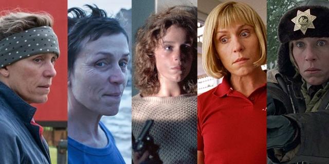 5 Rollen von Frances McDormand
