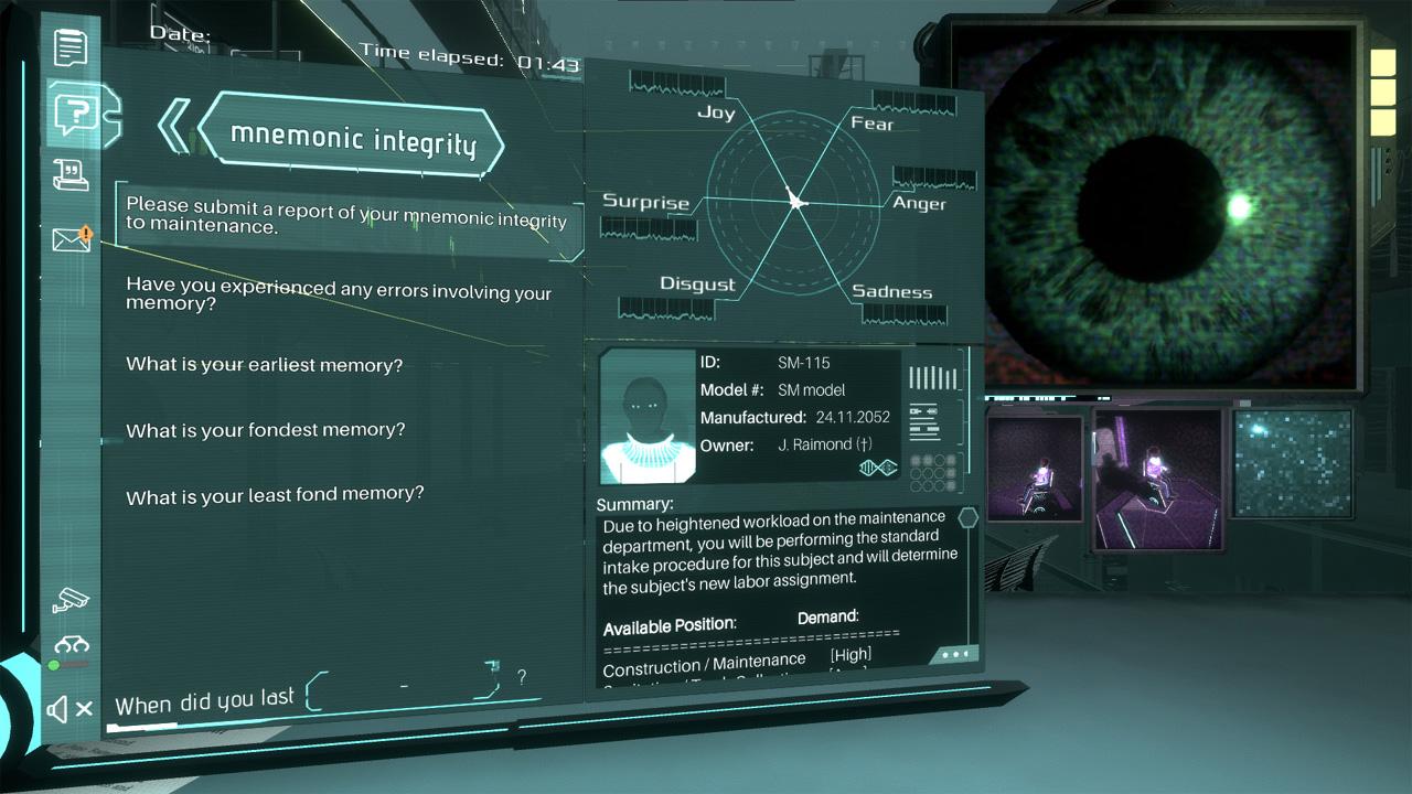 "Screenshot aus dem Computerspiel ""Silicon Dreams"""