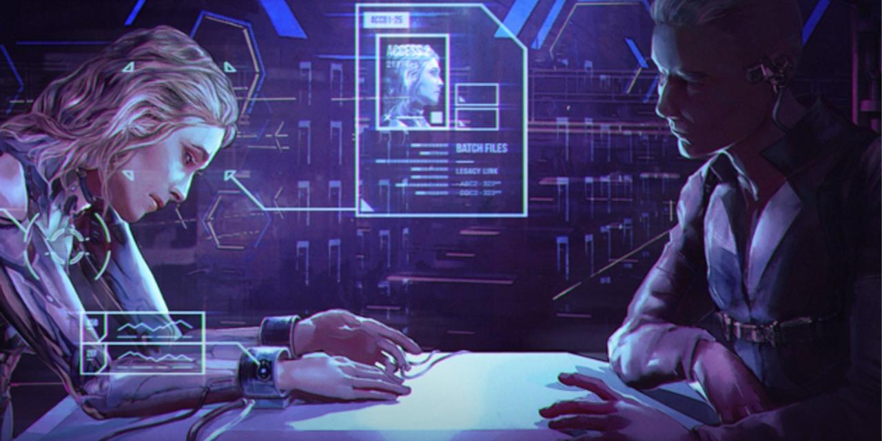 """Artwork zum Computerspiel """"Silicon Dreams"""""""