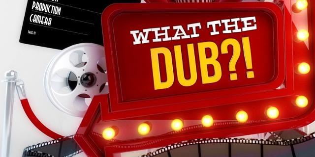 "Titelscreen des Computerspiels ""What The Dub?!"""