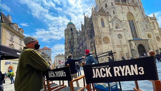 Jack Ryan Dreharbeiten in Wien